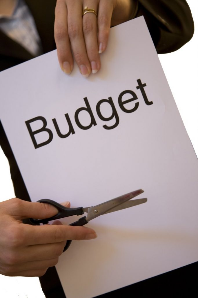Reduced budget